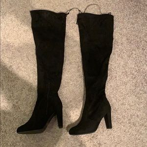 Woman's thigh high boots!